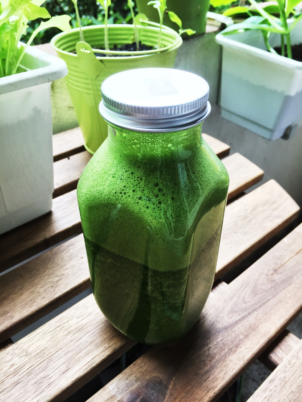 green smoothie - 1